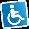 Adaptado para discapacitados